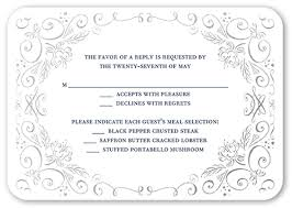 wedding invitations shutterfly whimsical scrolls rsvp cards wedding invitations shutterfly