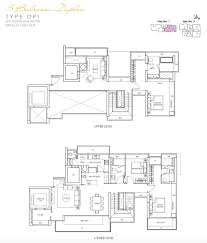 lincoln suites 3br duplex floor plan new condo launch singapore