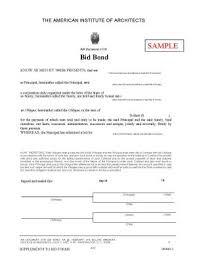 bid bond what happens if the construction bond obligation is not met