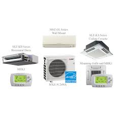 Wall Mounted Indoor Ac Unit Mxz 3b30na Split Air Conditioning And Heating 30k Btu 3 Indoor Units