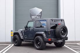 black and teal jeep used 2017 jeep wrangler 2 8 crd black mountain 2dr auto removable