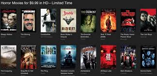 halloween deals discounts on scary movies apps apple