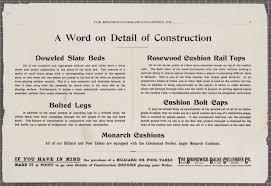Cushion Construction Catalog Mail Order