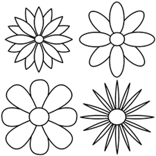 simple flower drawing best images collections hd for gadget