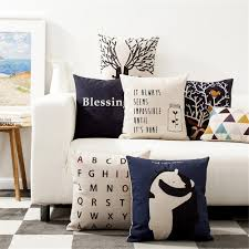 Pillow Decorative For Sofa by Compare Prices On Blue Pillows Decorative Online Shopping Buy Low