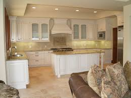 granite countertop kitchen curio cabinets aspect metal