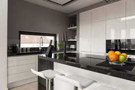 grey kitchen cabinets with black countertops what color cabinets with black granite countertops home