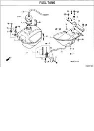 2007 honda fourtrax recon 250 es trx250tm fuel tank parts best