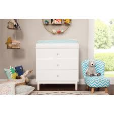 Babyletto Dresser Changing Table Babyletto Gelato 3 Drawer White Changing Table Dresser M12923wnx