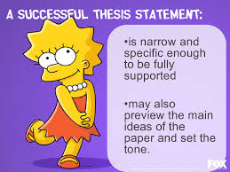 analysis thesis statement examples thesis essay thesis statements help lisa simpson on thesis lisa simpson on thesis statements topic sentences