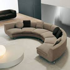 round sofa small curved sectional sofa couch foter