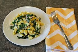 How To Make Really Good Scrambled Eggs by Snappily Ever After Swiss Chard Scrambled Eggs