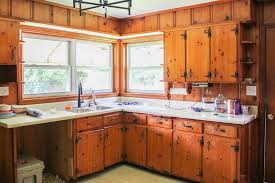 best paint for pine cabinets modern and colorful farmhouse kitchen plans knotty pine
