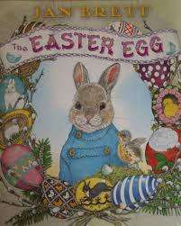 easter bunny books book club for kids the easter egg by jan brett play dr