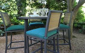 Menards Outdoor Cushions by Furniture Charming Outdoor Dining Room With Black Aluminum Frame