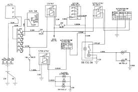circuit and wiring diagram daewoo korando front and rear fog lamp