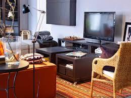 Led Tv Table Modern Led Tv White Plain Vertical Curtain Storage Tv Cabinet Plants In