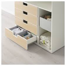 Changing Table Shelves by Stuva Changing Table With 4 Drawers White Green Ikea
