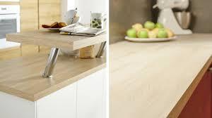cuisine plan de travail en bois plan de travail cuisine bois clair cuisine naturelle