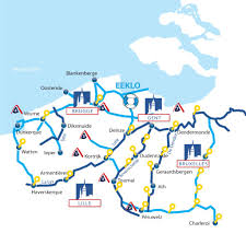 Europe Rivers Map by Belgium Region Information France Passion Plaisance Canal Boat