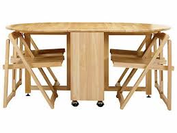 folding dining room table space saver furniture collapsible dining table and chairs inspirational linon