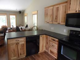 rustic kitchen with simple granite counters u0026 l shaped in marne