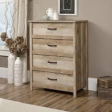 Sauder Oak Bookcase by Sauder Carson Forge 4 Drawer Washington Cherry Chest 415117 The