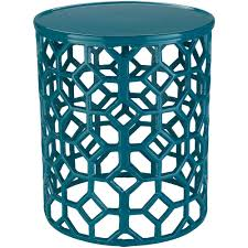 teal accent table artistic weavers athina teal accent table s00151099040 the home