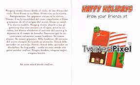 twisted pixel wishes us feliz navidad polygon
