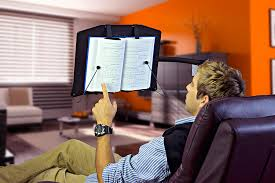 amazon com levo hands free book stand for hard covers