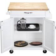 kitchen island or cart mainstays kitchen island cart finishes walmart com