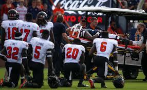 auburn lineman darius james carted off field with injury