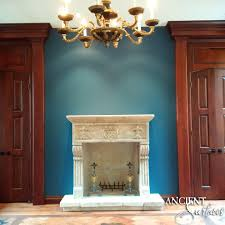 italian villa fireplace antique fireplaces by ancient surfaces