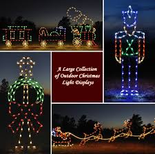 Large Outdoor Christmas Decorations Lights by A Large Collection Of Outdoor Christmas Light Displays 0 Jpg