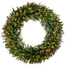 large wreath outdoor time coming