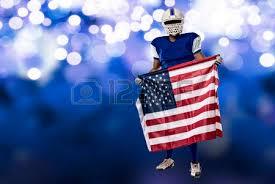 American Flag Christmas Lights American Flag Football Stock Photos Royalty Free American Flag