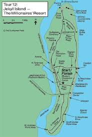 jekyll island map jekyll island bike trails maplets