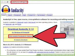 download mp3 from page source how to convert wav files into mp3 with audacity 12 steps