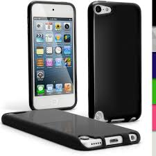 ipod touch 6th generation black friday deals igadgitz black glossy crystal gel skin tpu case cover for apple