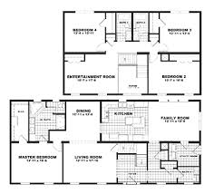 Floor Plans For Mobile Homes Double Wide 10 Double Wide Floor Plans 4 Bedroom Floor Plans For Mobile Homes