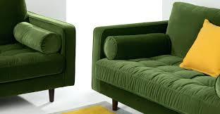 canapé velours design d intérieur canape velours vert nettoyer canapac unique