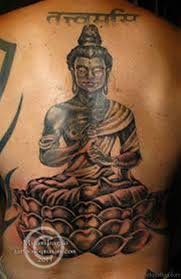 63 fantastic buddha tattoos for back
