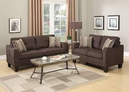 couch and loveseat set poundex bobkona spencer 2 piece living room set u0026 reviews wayfair