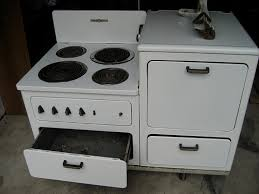 Ge Electric Cooktops For Sale Old Lady Riddle U0027s 1940 U0027s General Electric Stove
