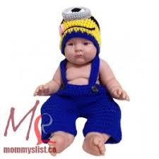 baby minion costume minion crochet costume set one eye c