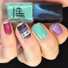 elf vacation trio swatches and nail art nailpolis museum of