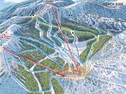 Maps Montana by Trail Maps U2013 Ski Whitefish