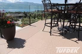 tufdek vinyl deck flooring and waterproofing products