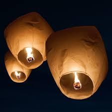 sky lanterns full case of 36 sky lanterns night skies and