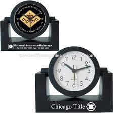 tradeshow giveaway variable angle swivel alarm clock executive